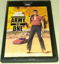 Army Of One 1993 DVD *RARE oop *Dolph Lundgren