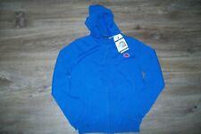 Weekend a la mer-boys blue hooded cardigan. 8y. Cotton. BNWT.RRP 35 £