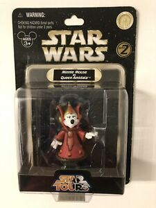 Disney Star Wars Tours Minnie Mouse as Queen Amidala Action Figure New