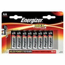 12 x Energizer AA MAX Alkaline Powerseal Batteries -  LR6 MX1500 MN1500 MIGNON