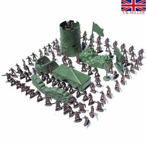 Action Figures Soldier Kit Military Army Men Sand Scene Model Set Boy Toy UK