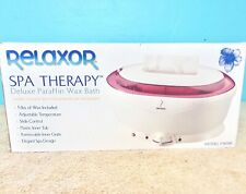 Relaxor Spa Therapy Deluxe Paraffin Wax Bath PWB8F 5 Lbs Of Wax Included New