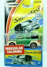 Matchbox Superfast 35 Years Honda Element Diecast Car w/Collector's Box #44 NIP