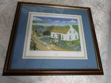 """Will Moses """"VISITORS FROM THE SKY"""" Signed Lithograph 59/1000 GLASS IS SIGNED"""