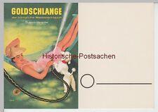 "(111256) Publicité-AK Tuyau Arrosage ""goldschlange"" V. paguac 1940er"