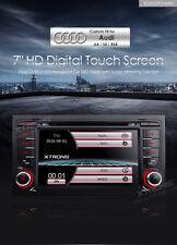AUTORADIO AUDI A4 NAVIGATORE GPS DVD USB SD DVX MP3 BLUETOOTH CANBUS BOSE XTRONS