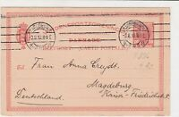 denmark 1910 stamps cover ref 19638