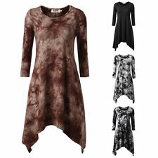 Knee Length Cotton Blend Floral Dresses for Women