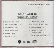 DINOSAUR JR WITHOUT A SOUND CD PROMO 1994 WEA SIRE J MASCIS INDIE GUITAR ROCK