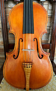 FINE, ITALIAN old antique MARIO ANTONIAZZI labelled 4/4 master viola