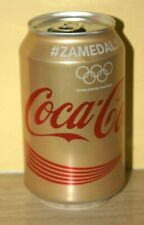 Rare Coca-Cola cans from  SERBIA - Rio 2016 Gold can