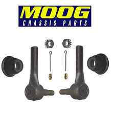 For Ford Country Pair Set of 2 Front Outer Steering Tie Rod Ends Moog ES435RL