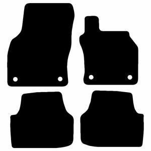 For Skoda Octavia 2013 Onwards Fully Tailored Carpet Car Mats Black 4pcs Mat Set
