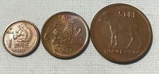3 Coin Norway Set: 1, 2 & 5 Ore UNC
