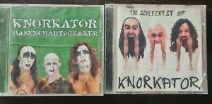2 x Knorkator CD - Hasenchartbreaker - The schlechtst of