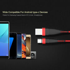 New Nylon Wire USB Type C Cable Quick Charge USB-C Fast Convert Data Cable 5V/2A