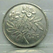 25 cents 1995 - TTB - pièce de monnaie Malte - Km# 97 - N14398