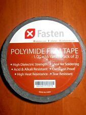 "Lot of 2 1/2"" x 108 ft. High Temperature Heat Resistant POLYIMIDE Kapton solder"