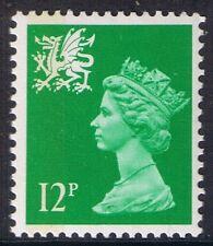 GB QEII Wales SG W36 12p Bright Emerald 1B Regional Machin Definitive 10% OFF 5+