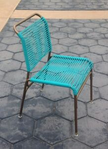 Vintage Mid Century Modern Patio Ames Aire Chair Brown Jordan