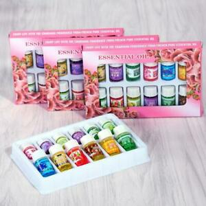 Aromatherapy Essential oil 12pcs A Set for Air Diffuser Aroma Therapy Humidifier