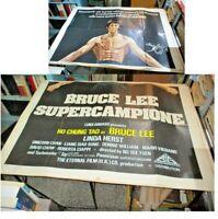 Bruce Lee Superchampion Manifesto 4F Original 1980 Ho Chung Tao