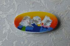 DOLLS House miniature: ovale in porcellana dalla Francia