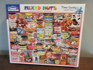 White Mountain 1000 Piece Puzzle MIXED NUTS)