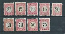1882TG Nederland Indie NR. P5-13 postfris zie foto's mooie zegels.