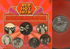 Red Hot Hits RED COLOUR Trammps Gladys Night Sweet Sensation Barry White ao