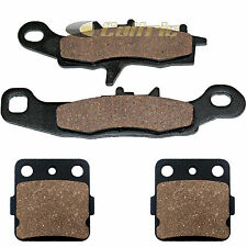 FRONT & REAR BRAKE PADS FITS KAWASAKI KX100 1997-2017