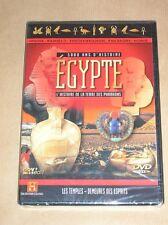 DVD DOCUMENTAIRE / EGYPTE / LES TEMPLES - DEMEURES DES ESPRITS / NEUF SOUS CELLO