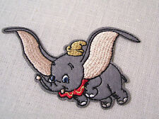 ÉCUSSON PATCH thermocollant ** 9 x 6 cm ** ÉLÉPHANT DUMBO - Applique à repasser
