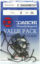 Daiichi O'shaughnessy Size 6 (value Pack)