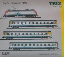 """MINITRIX TRIX 11629 Zug-Set """"Cisalpino""""  Digital Spur N NEU"""