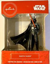 Hallmark 2019 Star Wars Darth Vadar W/Red Lightsaber Christmas Tree Ornament-Nib