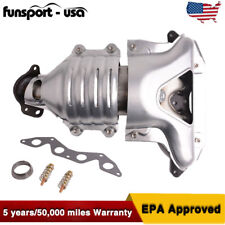 Catalytic Converter with Exhaust Manifold for 01-05 Honda Civic 1.7L SOHC Front