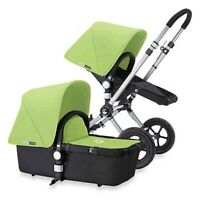 Bugaboo Cameleon Canvas Tailored Fabric Set Canopy Light Green