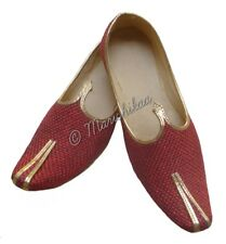Eid Spacial Men Handmade Khussa Shoe Jute Mojari Jutti For Ahlan Ramadan UK 8