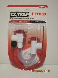 Rectorseal EZT113B/EZT-113B Clear Condensate Trap W/Cleaning Brush NISP F/SHIP!!