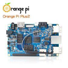 Orange Pi Plus 2 H3 Quad Core 1.6GHZ 2GB RAM 4K Open-source Mini pc Ordinateur