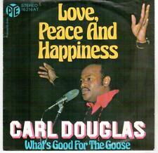 "<73-20> 7"" Single: Carl Douglas - Love, Peace And Happiness"