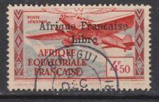 AFRIQUE EQUATORIALE PA N° 17 Oblitéré  C de française sans cédille  Cote 45 €