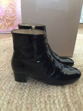 APC Black Patent JOEY Ankle Boots - EU 39 / UK 6 - RRP £375 - Current Season
