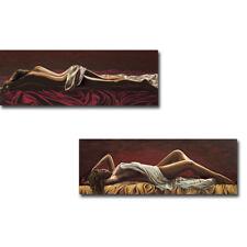 Incanto Notturno (Night Charm) & Dolce Sognare (Sweet Dream) 2-pc Canvas Art Set