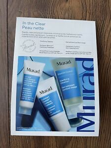 New Murad Oil And Pore Control Set Blemish Treatment Cleanser