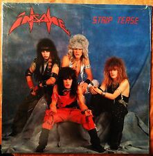 INSANE - Strip Tease - 1987 - Canadian heavy metal LP - RARE sealed mint