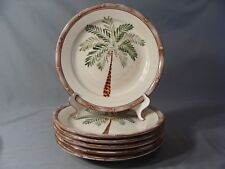 6 Home Trends Dinner Plates In The West Palm Pattern