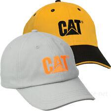 Caterpillar Hats Men CAT Logo Adjustable Baseball Cap Cotton Curved Visor OSFM