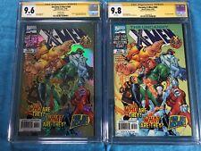 Uncanny X-Men #360 set of 2 - Marvel - CGC SS 9.8 9.6 - Signed by Steve Seagle